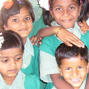 Верстка сайта школы «Sri Sai Prasanthi School»